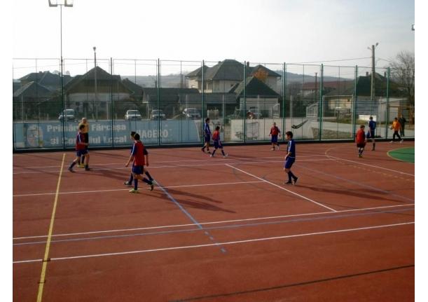 Inaugurare teren de sport multifuncțional Fărcașa