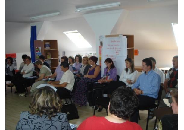 Masa rotundă împotriva abandonului școlar Tămaia 7 iulie 2011