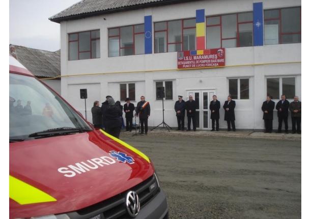 Stația SMURD Fărcașa