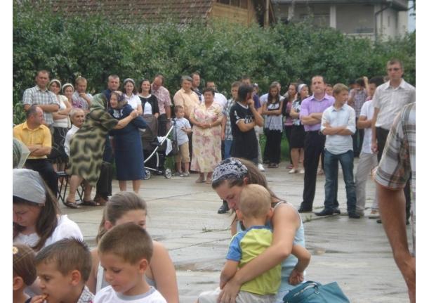 Biserica penticostală Elim Fărcașa - concert 7 august 2011