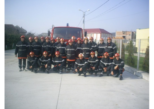 Formația de pompieri civili a comunei Fărcașa