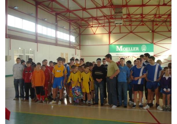 Cupa 1 decembrie la fotbal în sală-2009