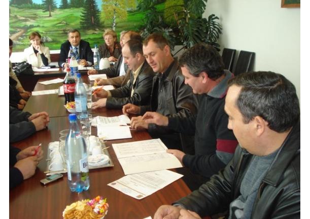 Ședință a Consiliului local Fărcașa