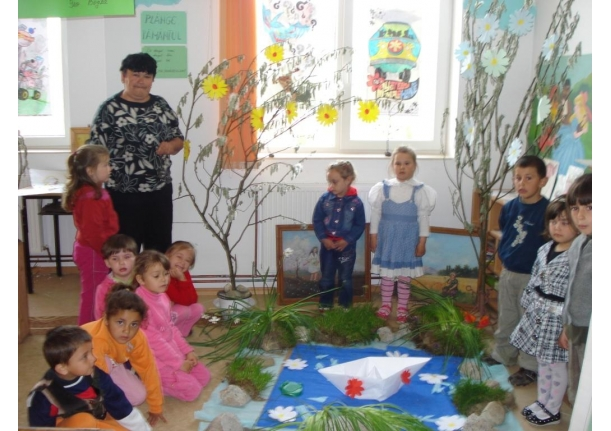 Ziua Pământului sărbătorită la Grădinița Tămaia