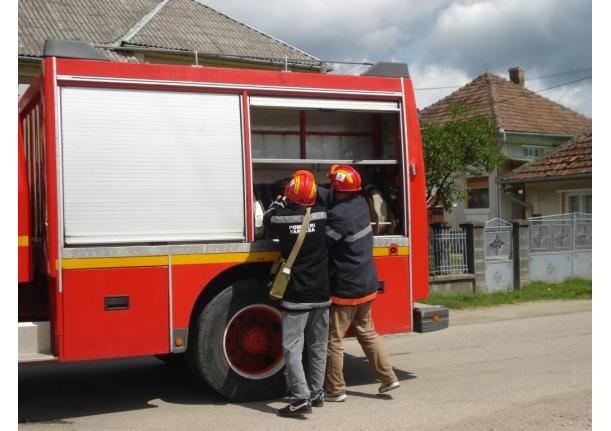 Exercițiu de alarmare pentru situații de urgență