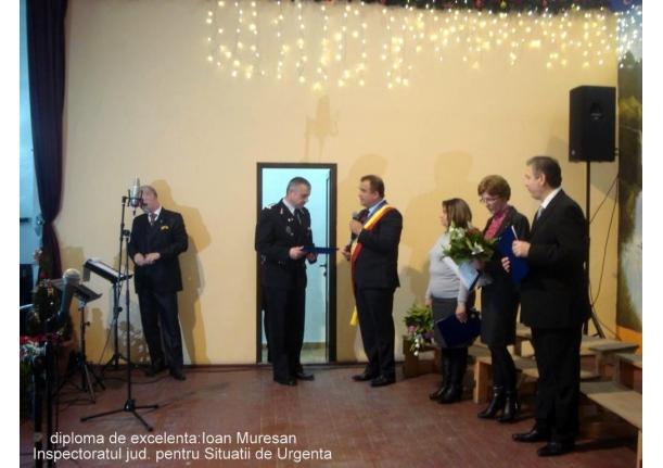 Cetățeni de onoare ai comunei Fărcașa și Diplome de Excelență