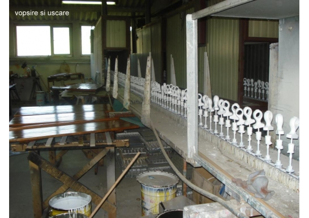 Fabrica de galerii-perdele SC Ridorail SA Buzești