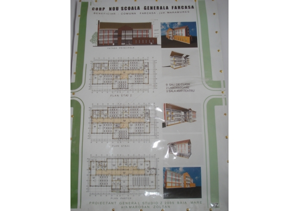 Școala Fărcașa - clădirea nouă