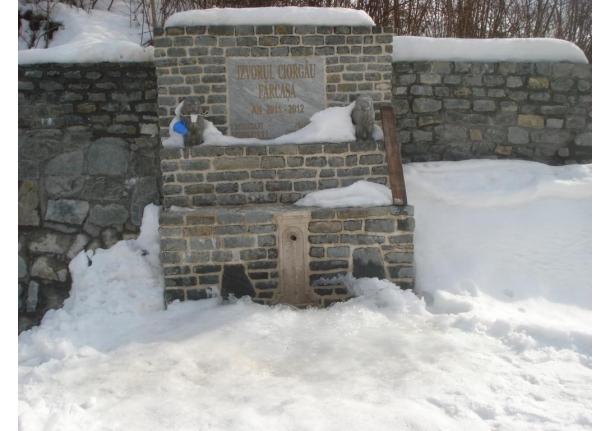 Izvorul CIORGAU Fărcașa