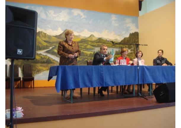 Festivitatea deschiderii anului școlar 2010-2011