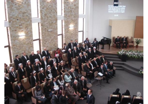 Sfințirea Bisericii Penticostale BEȚEL Sîrbi 10.10.2010
