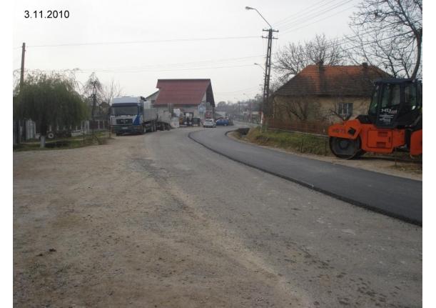 Asfaltare DJ 108 A în Fărcașa