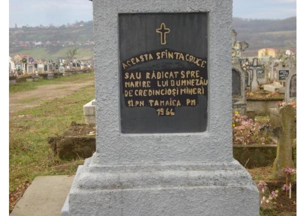 Cimitirul ortodox Tămaia