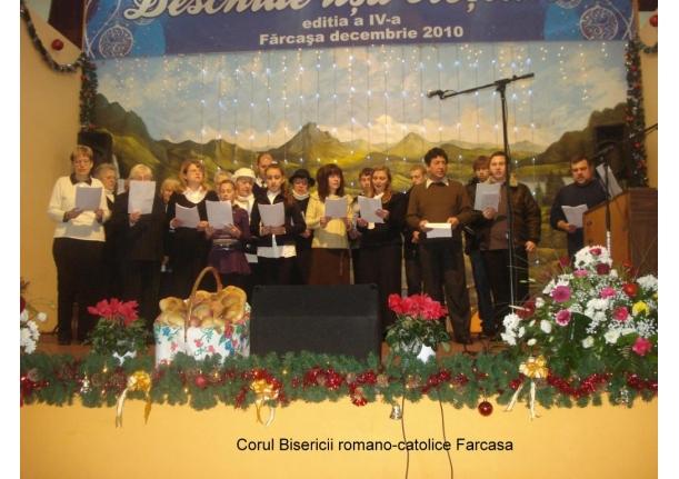 Festivalul de colinde DESCHIDE UȘA CREȘTINE ediȚia a IV a Fărcașa decembrie 2010