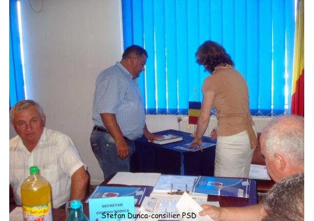 Ședința de constituire a Consiliului Local 2012