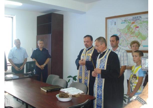 Inaugurare Post Jandarmi Fărcașa