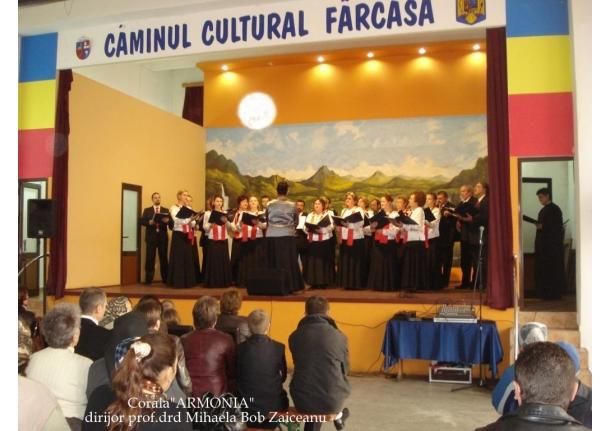 """Corala """"ARMONIA"""" concert Pascal la Fărcașa-10 aprilie 2011"""