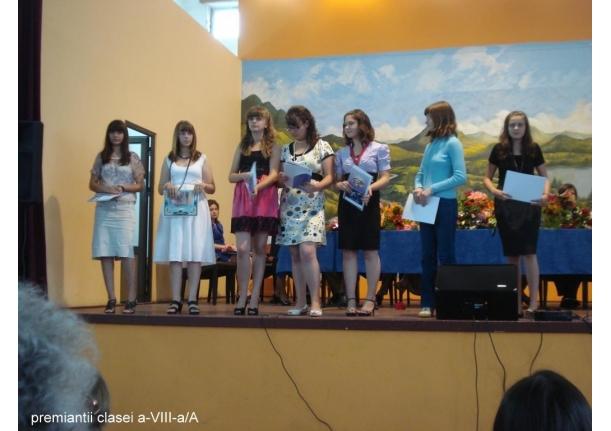 Serbarea sfârșitului de an școlar 2010-2011