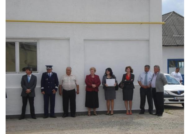 Deschidere PUNCT DE LUCRU al ISU Maramureș la Fărcașa