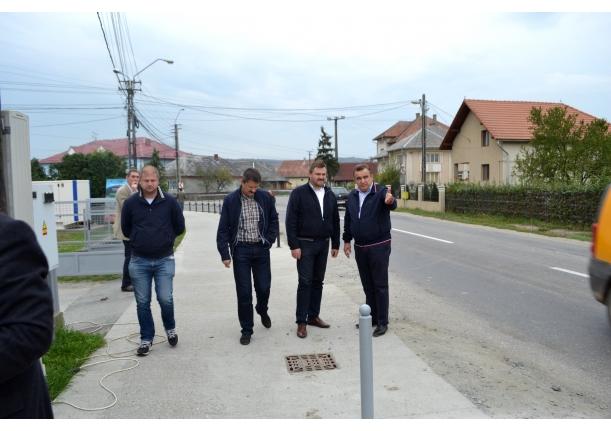 Președintele C.J. Maramureș,Zamfir Ciceu-Vizită în Fărcașa
