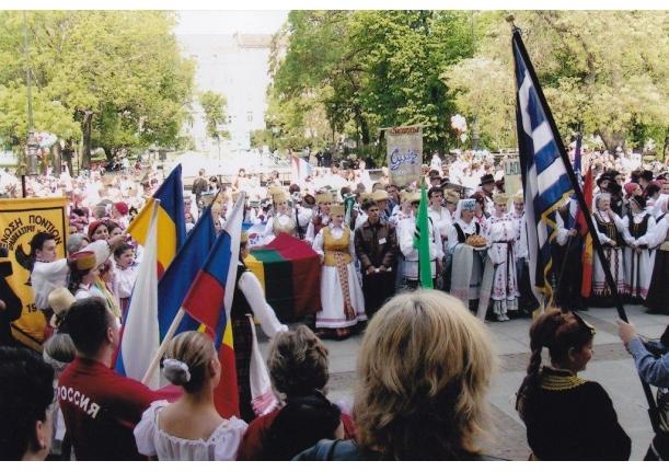 "Ansamblul ""Plaiuri Someșene"" laureat în Bulgaria 2007"