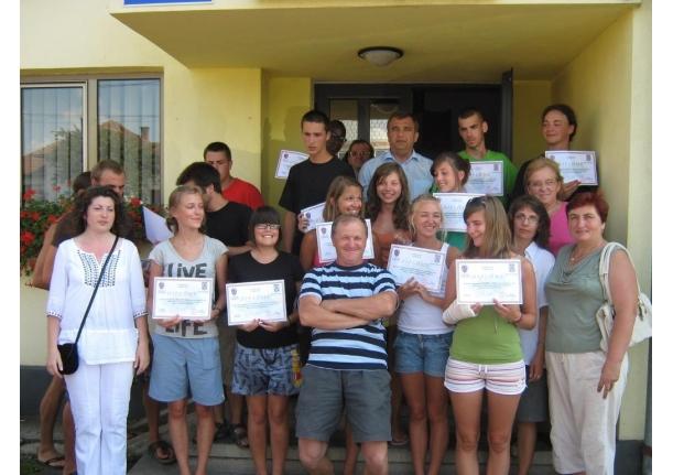 Scutii belgieni, oaspeți în comuna Fărcașa iulie 2010