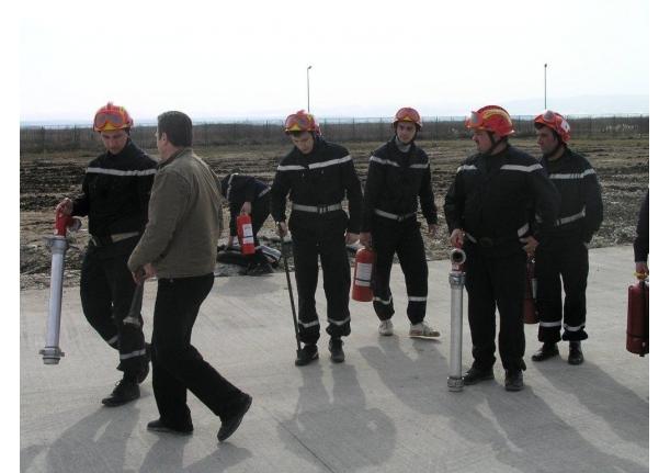 Echipa de pompieri de la EATON